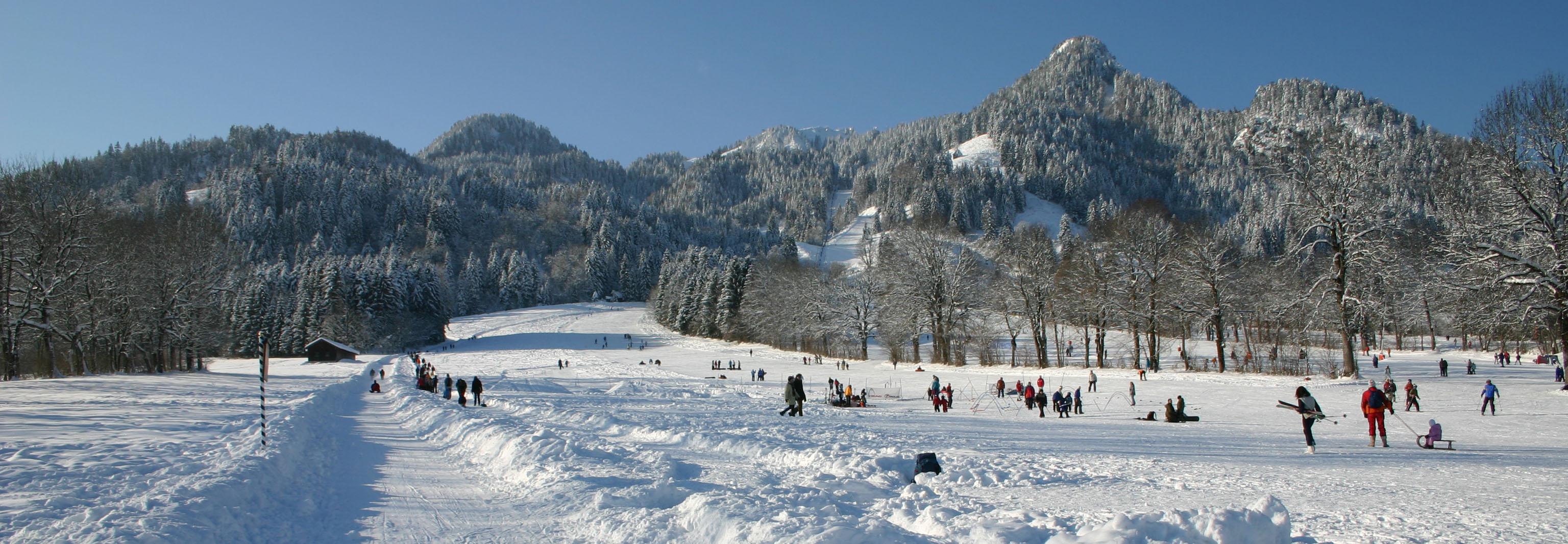 Rodel & Eislauf: Erlebnis Ochsenkopf im Fichtelgebirge Bayern